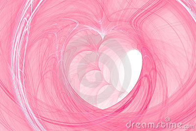 Heart background abstract