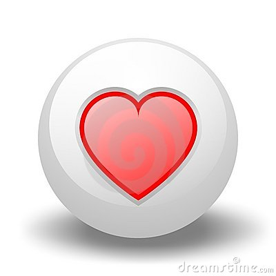 Heart On Ball