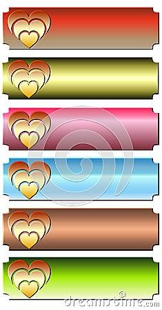 Heart banner