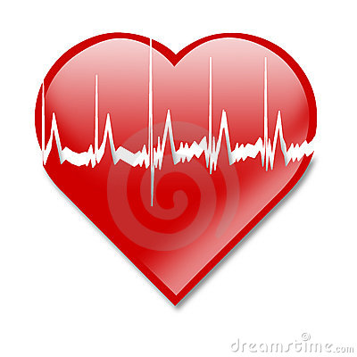Free Heart Beat Royalty Free Stock Photography - 1887747