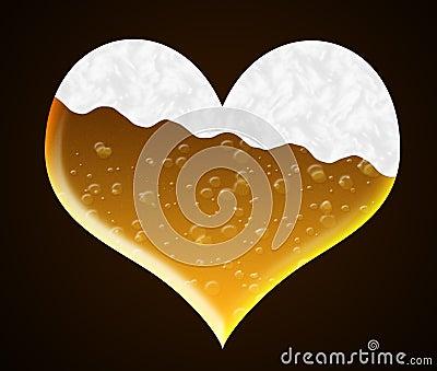 Heart of beer