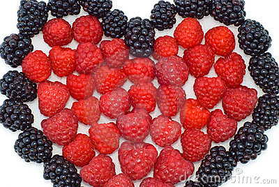 Heart Of Berries