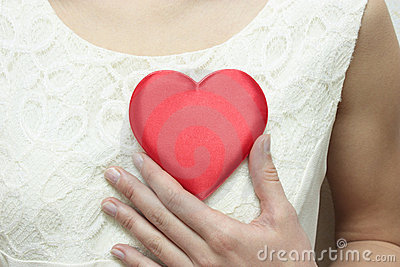 The Heart on bosom.