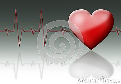 Heart cardiogram.