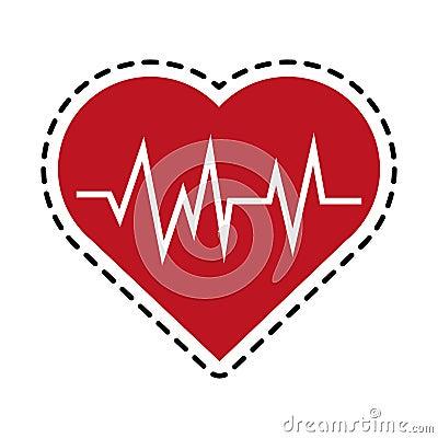 Free Heart Cardiogram Health Icon Image Royalty Free Stock Photo - 88474165