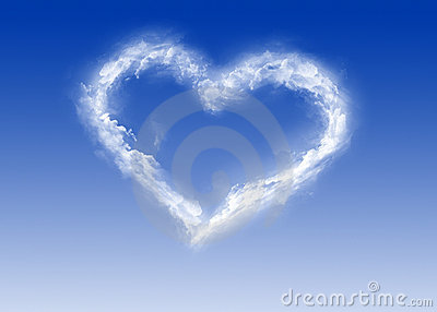 Heart of clouds - Valentine s Day - Love