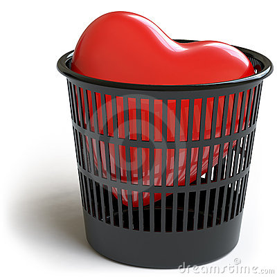 Free Heart Collection - Push Here Royalty Free Stock Photos - 12982608