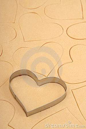 Free Heart Cookie Cutter Stock Photos - 450093