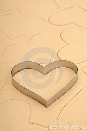 Free Heart Cookie Cutter Stock Images - 450094