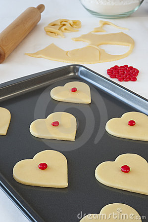 Free Heart Cookies Stock Photo - 18059930