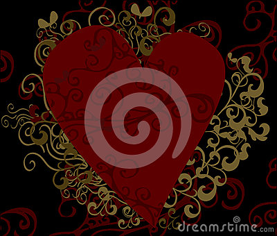 Heart Design Background
