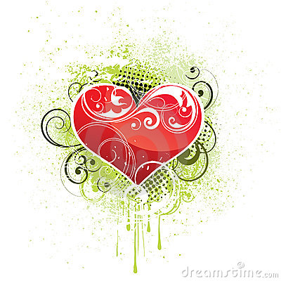 Free Heart Design Illustration Royalty Free Stock Image - 9770726