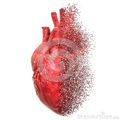 Free Heart Disease Concept. 3D Rendering Royalty Free Stock Photo - 133510825