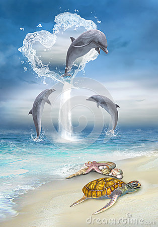 The Heart Of The Dolphins