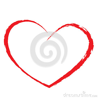 Free Heart Drawing Royalty Free Stock Photo - 32349465