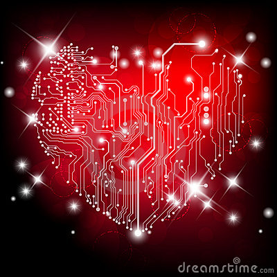 Heart electric board