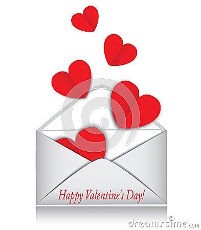 Heart, envelope, Valentine s Day