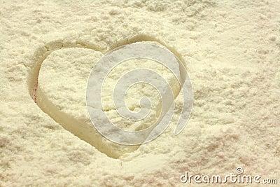 Heart flour
