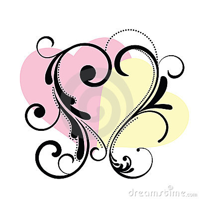 Heart Flourish Frame