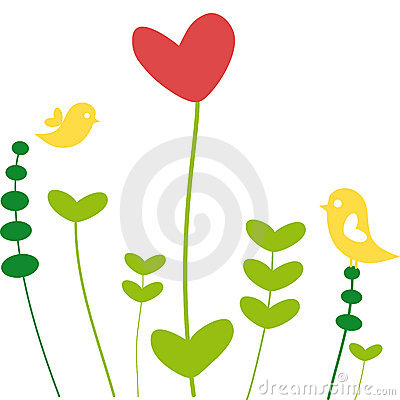 Free Heart Flower Royalty Free Stock Photos - 5644718