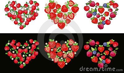 Heart Fruit Set