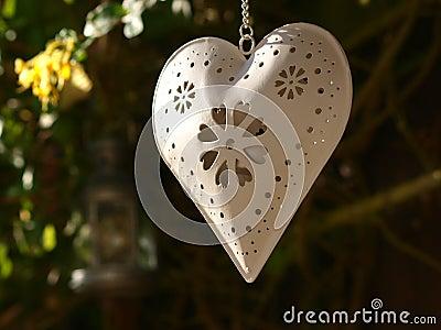 Heart in Garden