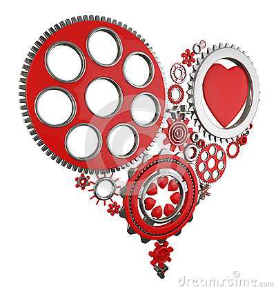 Heart and gears