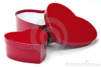 Heart gift boxes