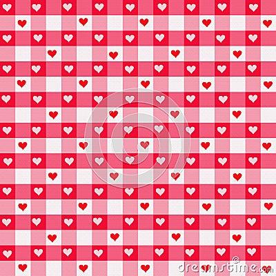 Heart Gingham