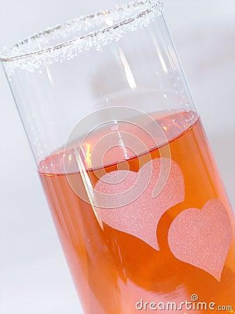 Heart glass