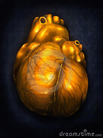 Heart Of Gold - Digital Painting