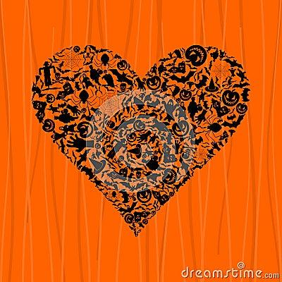 Heart Halloween