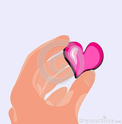 Heart in the hand