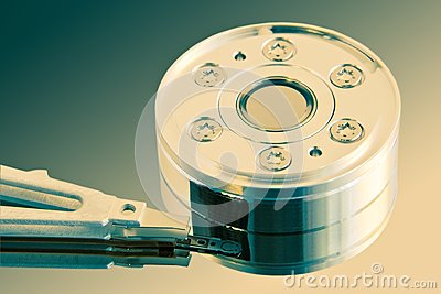 Heart of the hard disk