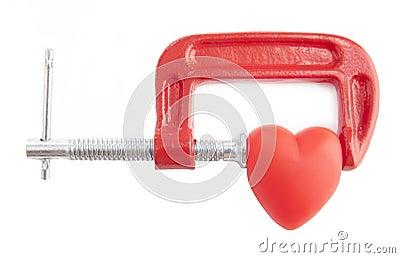 Heart healing concept