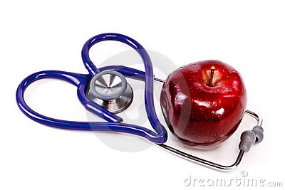 Heart healthy apple