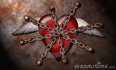 Heart held hostage