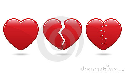 Heart Icons EPS Vector Illustration