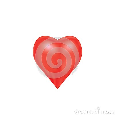 Heart for expressing emotion of love Stock Photo
