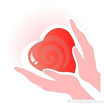Free Heart In Hands Stock Photography - 4020632