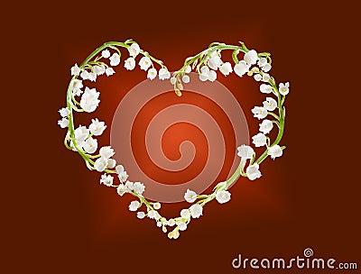 Heart of lillies
