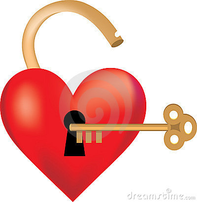 Free Heart Locked Stock Photography - 1844732