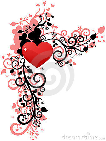 Free Heart Love Or Valentine S Design Stock Images - 12301974