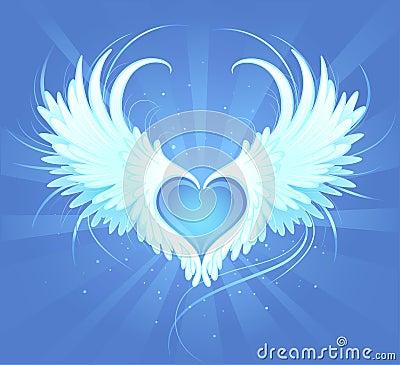 Free Heart Of An Angel Stock Photos - 14289063