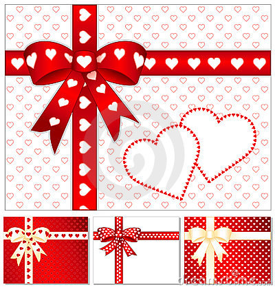 Free Heart Of Hearts Presents  Stock Photos - 5152143