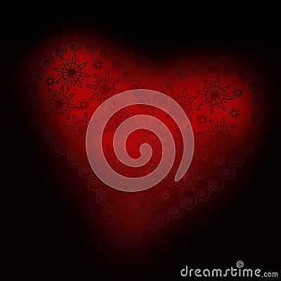 Free Heart Ornament 02 Royalty Free Stock Photo - 1881615