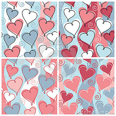 Free Heart Pattern Stock Photography - 3022422