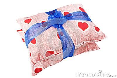 Heart pillow gift