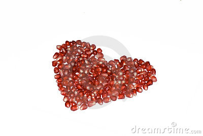 heart  pomegranate