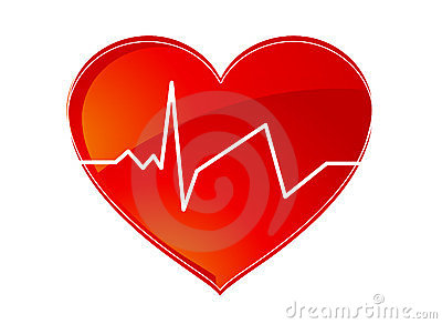 Heart pulse logo